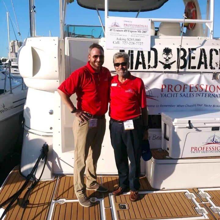 David Messina and Lee Messina, Professional Yacht Sales International