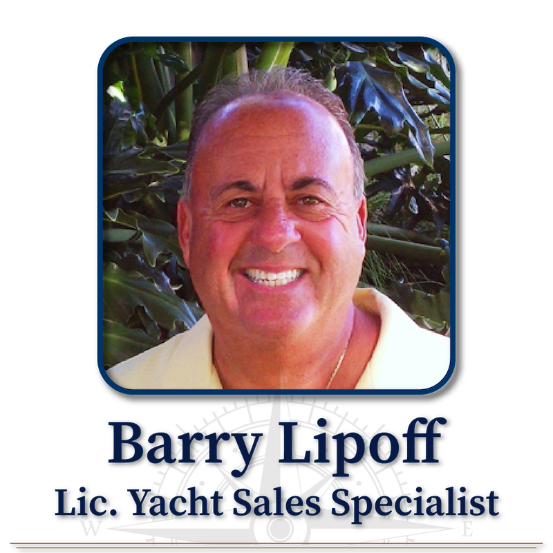 Barry Lipoff, Licensed Yacht Sales Specialist