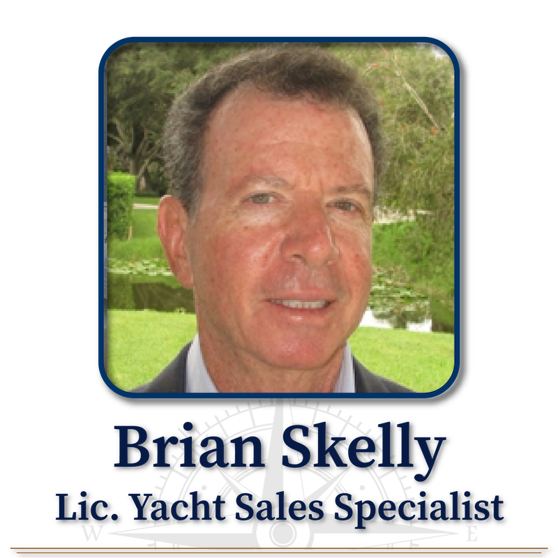 Brian Skelly, Licensed Yacht Sales Specialist