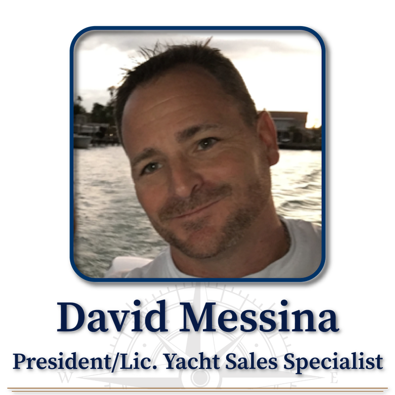 David Messina, Licensed Yacht Sales Specialist and President of Professional Yacht Sales International