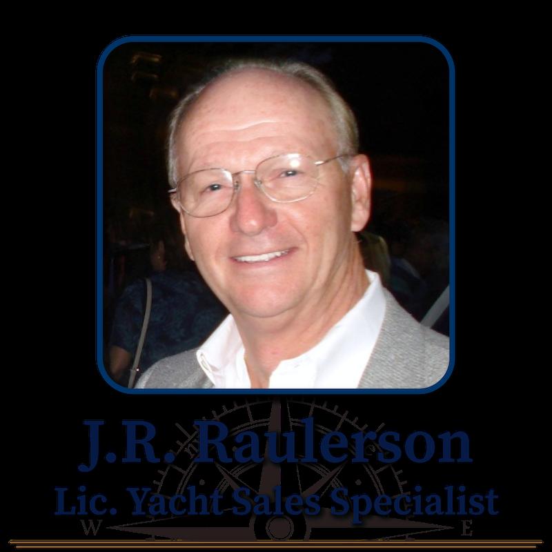 J.R. Raulerson, Licensed Yacht Sales Specialist