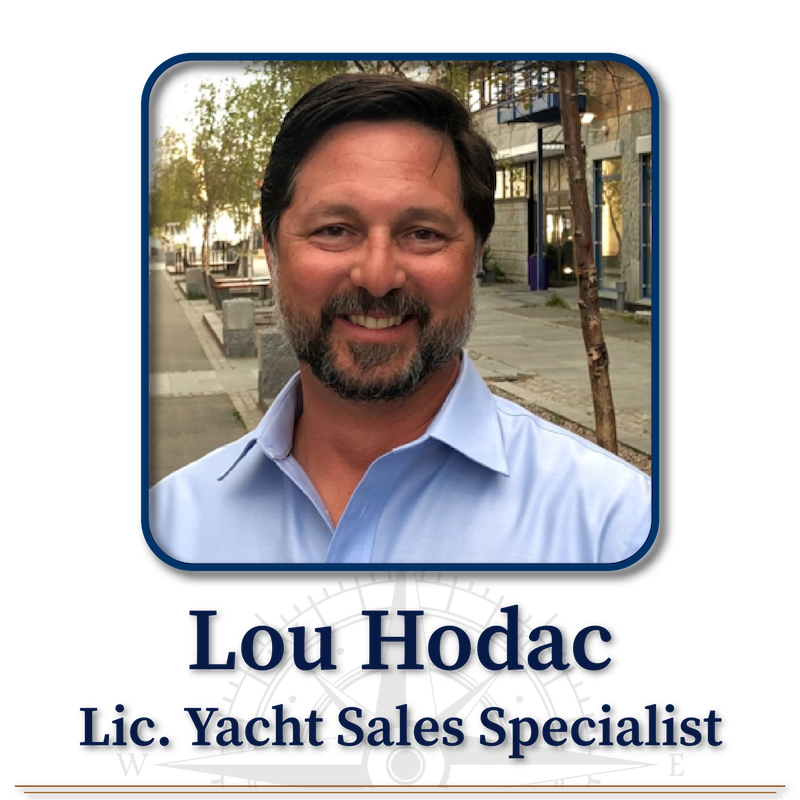 Lou Hadoc, Licensed Yacht Sales Specialist