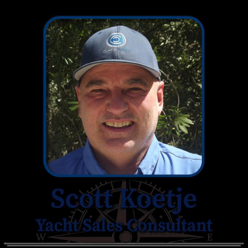 Scott Koetje, Yacht Sales Consultant