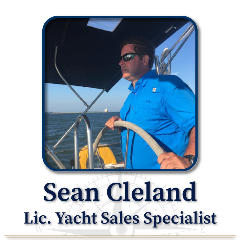 Sean Cleland, Licensed Yacht Sales Specialist